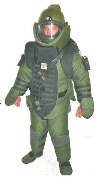 Bulletproof EOD Bomb Disposal Suit , All Round Protection EOD Bomb Suit