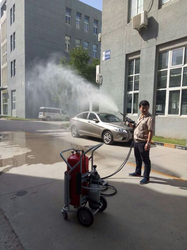 Stainless Steel Water Spray Fire Extinguisher , Advanced Fire Department Equipment