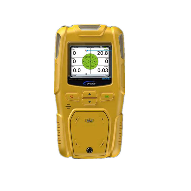 High Definition Display Multi Portable Gas Detector Yq7 With 500m Detection Range
