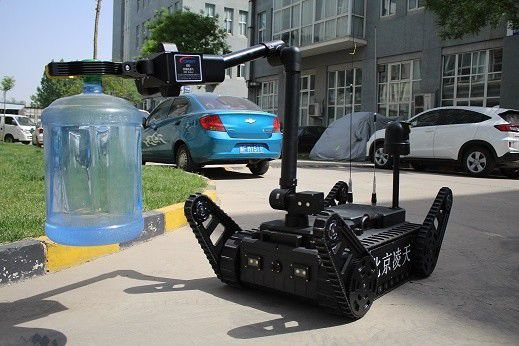 360 ° Panorama Image Counter Terrorism Equipment ER3-A EOD Robots With 12 Inch High Light LCD Screen