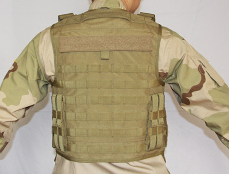 Soft Trauma Plate Counter Surveillance Equipment Tactical Soft Bulletproof Vest