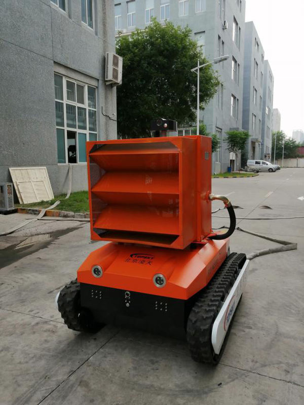 High Prevention Foam Fire Fighting Equipment Reconnaissance Robot Stable Performance